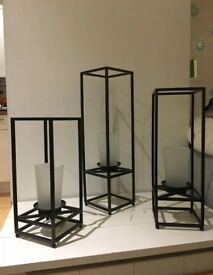 Partylite Framework Candle Holders NEW