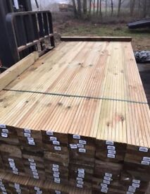 Treated Decking for sale various lengths