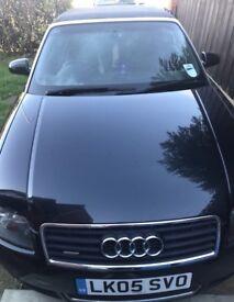 Audi A4 sport cabrio 3l Quattro 2005