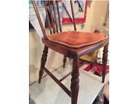 Antique small chair. Beautiful piece