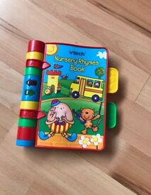 Vtech Musical Nursery Rhyme book - perfect working order and immaculate