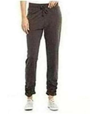 Katies RUCHED HEM Leisure -Sport-Gym Track PANTS. Size L -18 NEW. GREY rrp$39.95