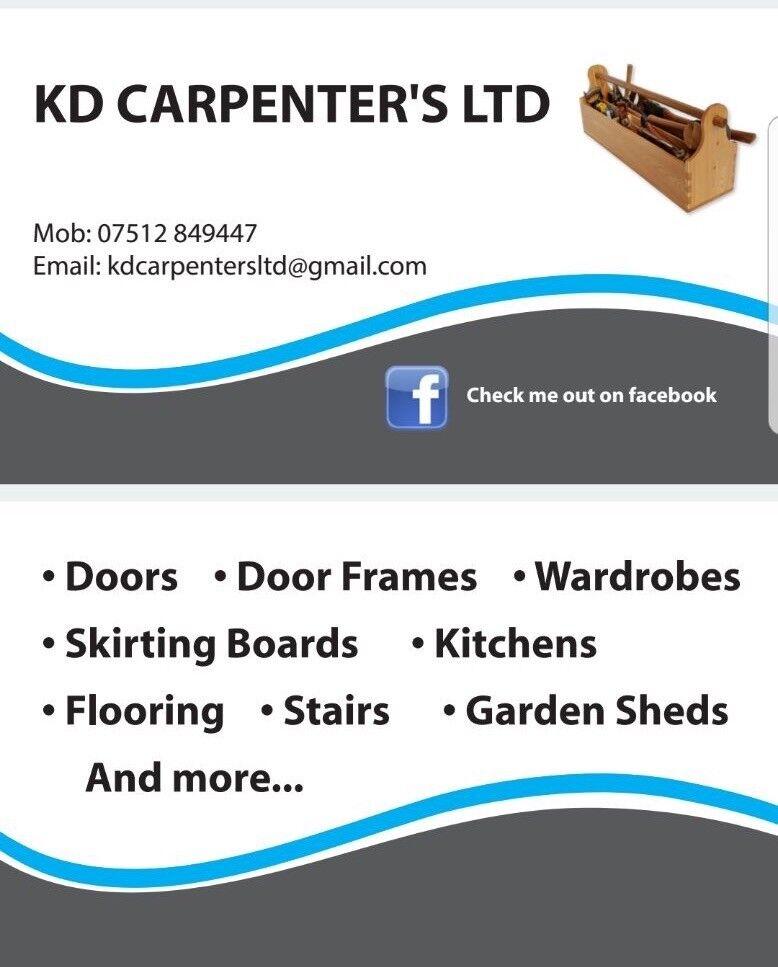 K.D CARPENTER'S LTD (We also offer a supply & fit service)