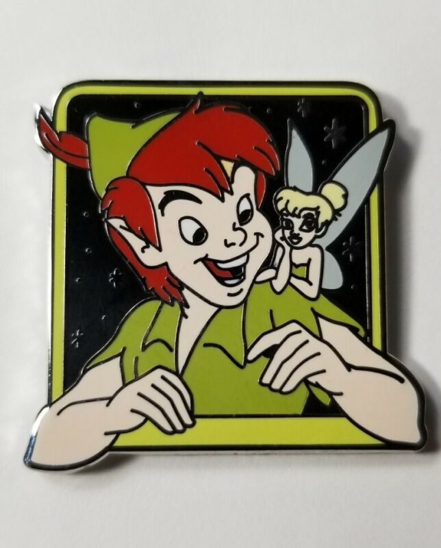 Disney Pin 2013 Couples Mystery Pack - Peter Pan & Tinker Bell #95861 NEW Carded
