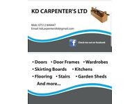 CARPENTER, DOOR FITTING SPECIALIST, KITCHEN FITTING, SKIRTING BOARDS, LAMINATE FLOORING & MORE