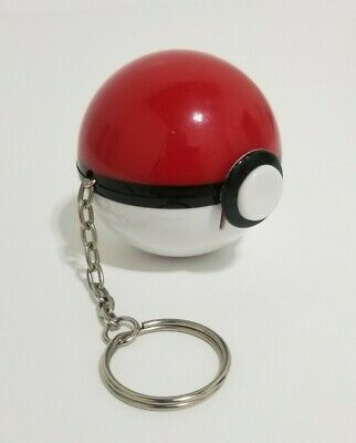 Pokemon Psyduck Basic Fun (1999) Figure Pokeball Keychain Nintendo