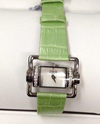 Corum Horizontal Diamond Watch Ultra Rare Sold Out !!!