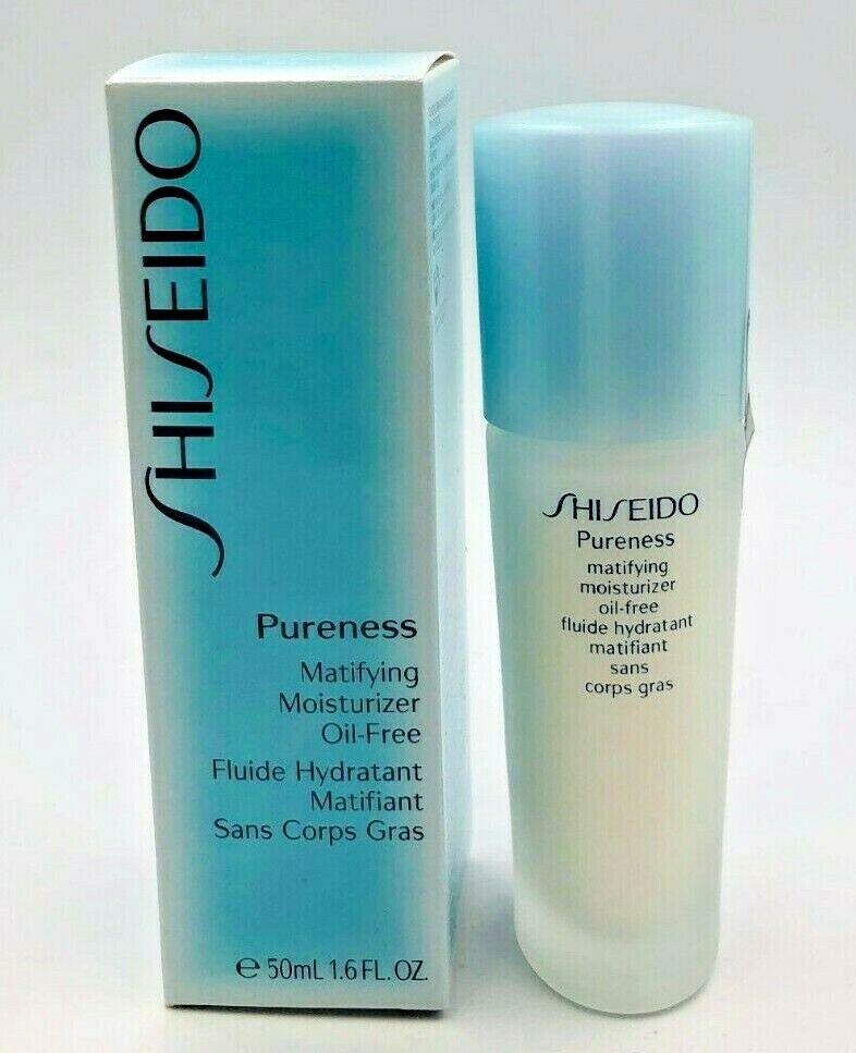Shiseido Pureness Matifying Moisturizer Oil-Free 1.6 oz New