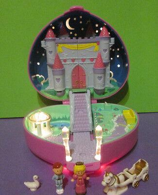 Polly Pocket Mini ♥ Herz Schloss ♥ Starlight Castle ♥ 100% Complete ♥ 1992 ♥