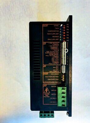 Servo Dynamics Brushless Servo Drive Model 1224 Bls Centroid 7300-8112