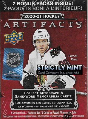 2020 2021 Upper Deck ARTIFACTS Series Hockey Blaster Box Lafreniere 20 21 Autos