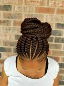 braids twists cornrows crochetbraids treebraids from £40