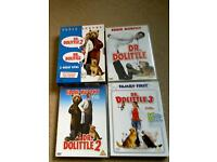 Doctor Dolittle DVD's