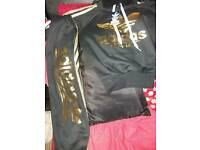 Brand New with tags addidas tracksuit age 8 9 years