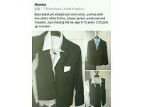 Boy's wedding suit