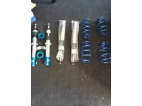 Jom blueline coilovers brand new *max lowering 90mm* 150 ono fit *mk2 seat leon audi a3 or mk5 golf*