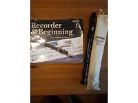 Yamaha Recorder & Book