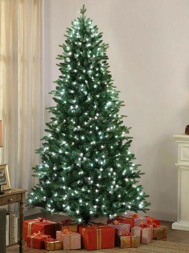 NEW Mr. Christmas 7.5ft Alexa Enabled Pre-Lit LED Tree w 40 Lighting Options