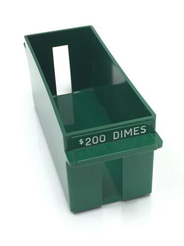 Coin Trays-Extra Capacity-Dimes $200  212-0710-02 NOS