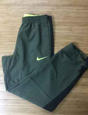 Nike Dri Fit Woven Mens Track Pants Size M