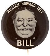 William Taft Button