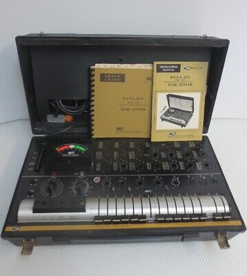 Bk 747 Dyna-jet Solid State Mutual Conductance Tube Tester