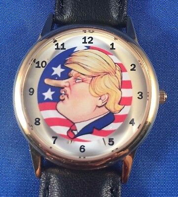 Donald TRUMP Growing Nose Watch -- Nose Grows Every 6 Seconds!