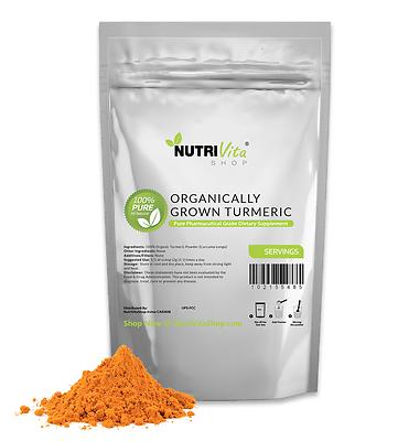 11lb (5000g) 100% Pure Organic Turmeric Root Powder (Curcuma Longa)