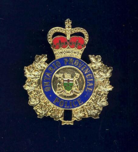 Obsolete- Ontario Provincial -  hat badge