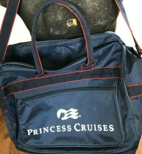 Princess Cruises Wheeled Carry On Tote Duffel Bag with Zip Enclosures