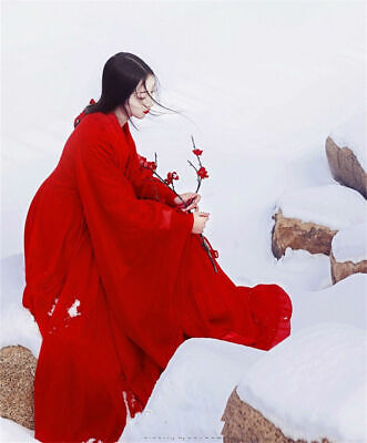 i Jin Retro Kostüm Frauen Hanfu Anzug CosplayRed Fairy Dress (Chinesische Frauen Kostüme)