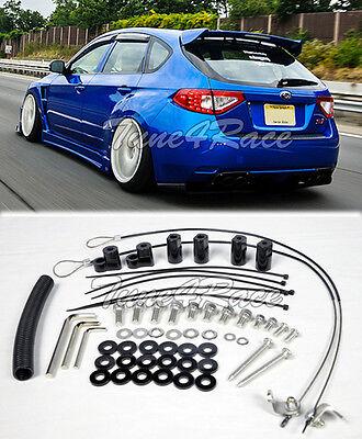 For 08-14 Subaru Impreza STI 11-14 WRX Riser Kit Hatch 3Dr Rear Spoiler Lip Wing for sale  USA