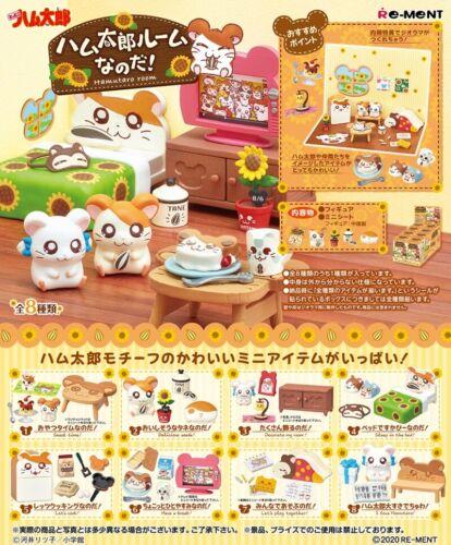 01/21 Re-Ment Miniature Japan Hamster Hamutaro Room Furniture Full set Rement