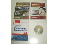 Photoshop 6 Elements Disc with 3 Tutorial Books