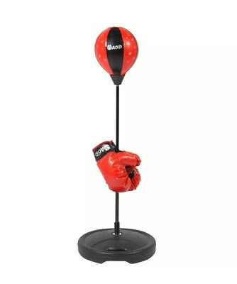 Inflatable Punching Gloves (BCP Kids Bounce Bag Boxing Set w/ Inflatable Punching Bag,)