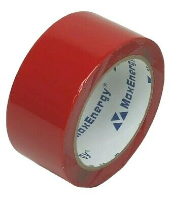 Maxenergy House Wrap Sheathing Tape Red 12 Rolls 1.88 In X 54.6 Yds