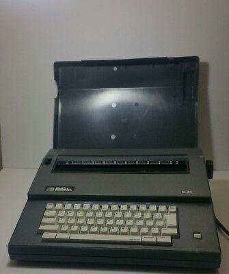 Vintage Smith Corona Sl80 Portable Electric Typewriter Working Condition