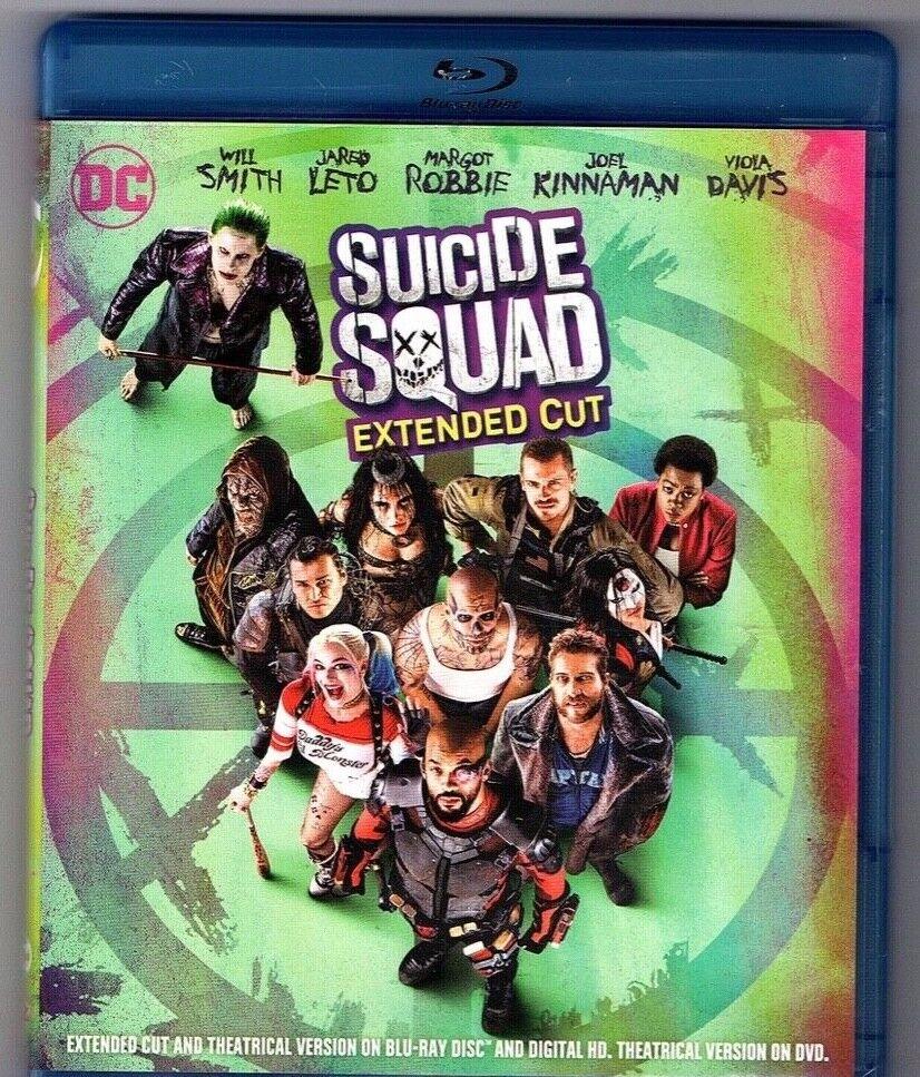 suicide squad blu ray 2 discs version