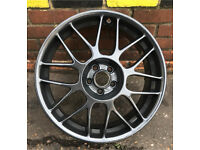 GENUINE BBS RC336 VW GOLF ANNIVERSARY RARE 5x100 18 INCH ALLOYS