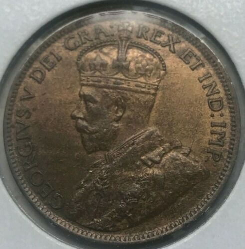 1918 Canada 1 One Cent - Nice Copper