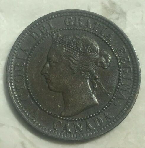 1900 Canada 1 One Cent - Excellent Example