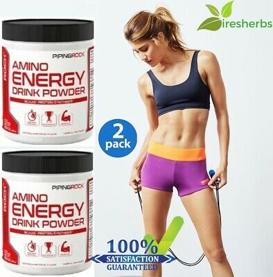 2 #1 BEST AMINO ACID ENERGY DRINK POWDER PRE-WORKOUT MUSCLE GROWTH BLENDS