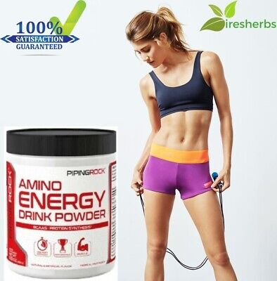 #1 BEST - AMINO ACID ENERGY DRINK POWDER PRE-WORKOUT MUSCLE GROWTH BLENDS