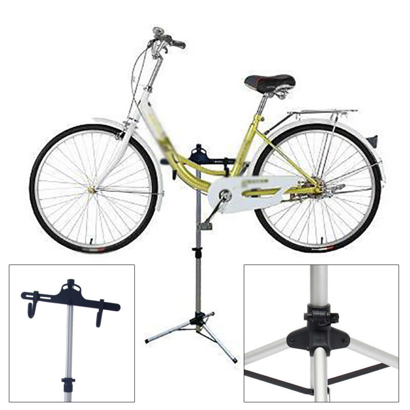 Foldable Bike Bicycle Maintenance Bike Repair Rack Work Stand Holder Adjustable