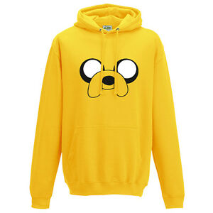 Adventure-Time-Jake-The-Dog-Sweat-a-capuche-Inspire-drole-Design-Unisexe-a-Capuche-Haut
