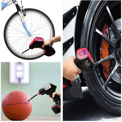 120-300PSI Digital LCD Electric Auto Tire Inflator Pump Air Pressure Compressor