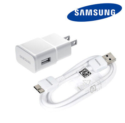 New Original Samsung USB Wall Charger Data Sync Cable OEM for Galaxy S5 & Note 3