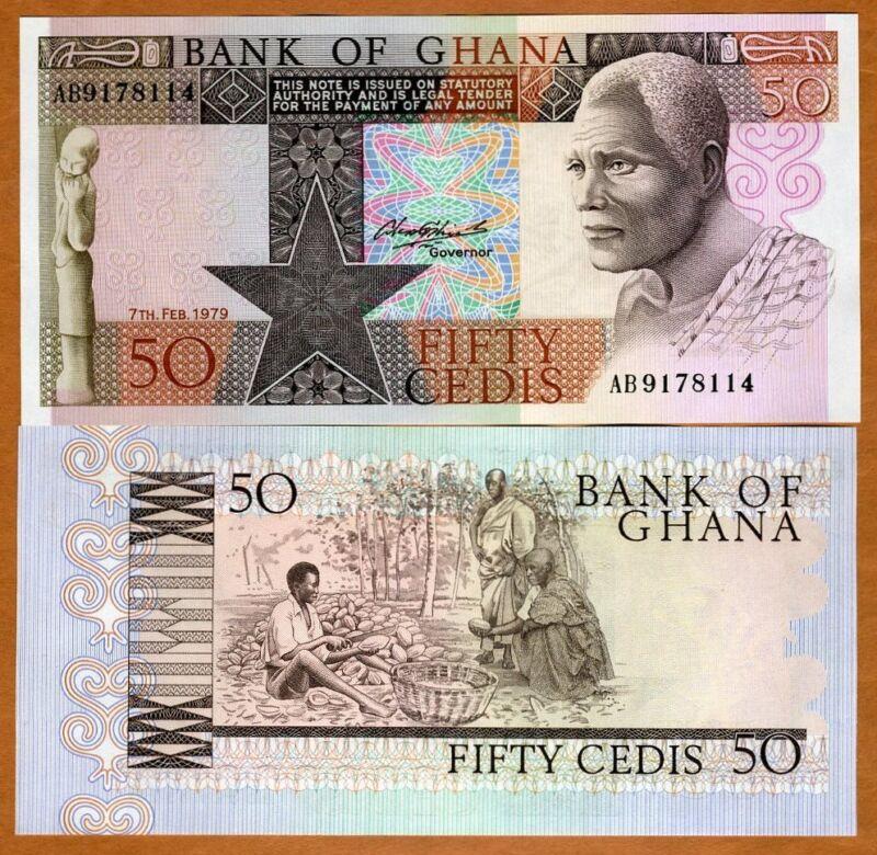 Ghana / Africa, 50 Cedis, 1979, P-22 (22a), UNC