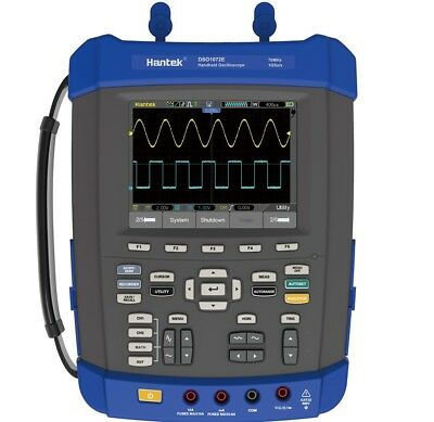 5in1 Hantek 2channels 70100150200mhz 1gsas Handheld Oscilloscope 6000 Counts