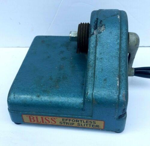 Vintage Fraser BLISS Portable Strip Slitter Cutter